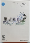 Final Fantasy Crystal Chronicles Echoes of Time (Wii) Cover