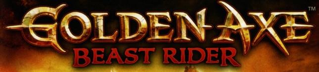 Golden Axe Beast Rider Banner