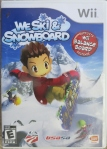 We Ski and Snowboard Cover