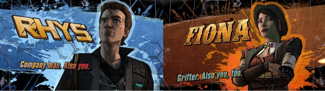 Tales From the Borderlands Rhys and Fiona