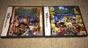 Etrian Odyssey I and II eBay Lot