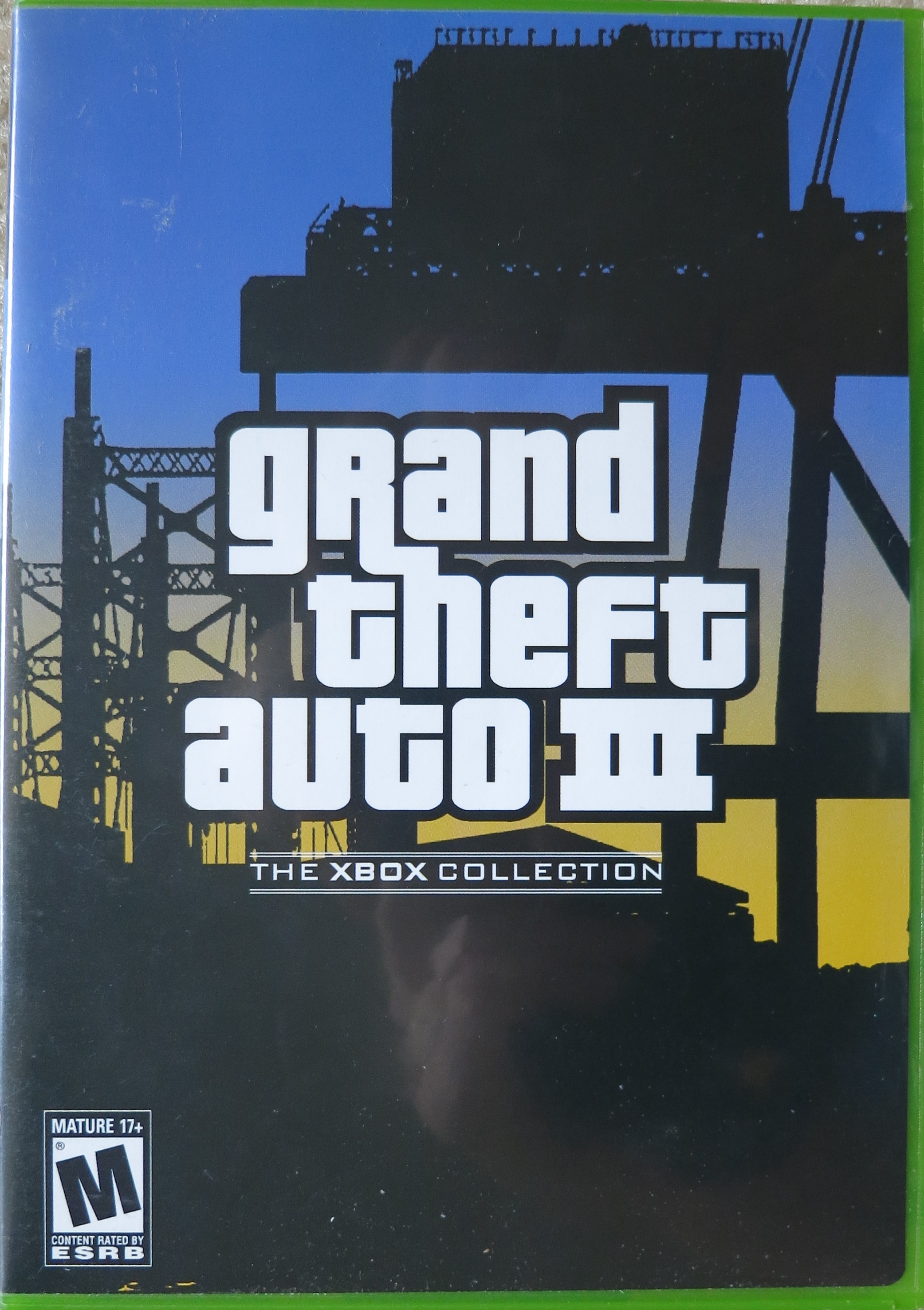 Grand theft auto iii xbox ntsc espanol