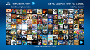 PlayStation Now Subscription List