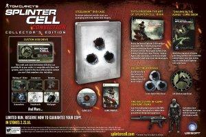 Splinter Cell Conviction Limited Edition