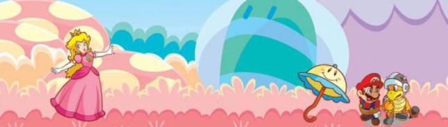 Super Princess Peach Banner