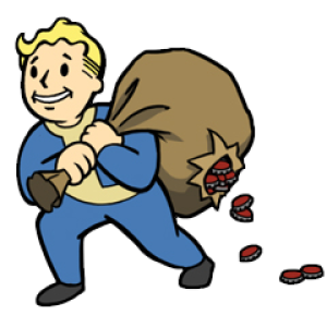 Vault Tec Pip Boy Moneybags