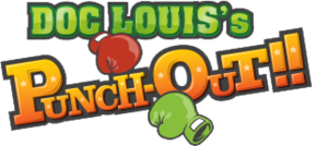Doc Louis Punch-Out Logo