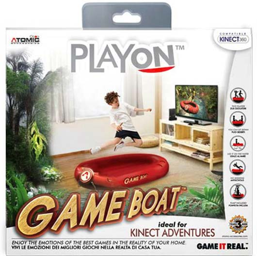 Kinect Adventures Game Boat