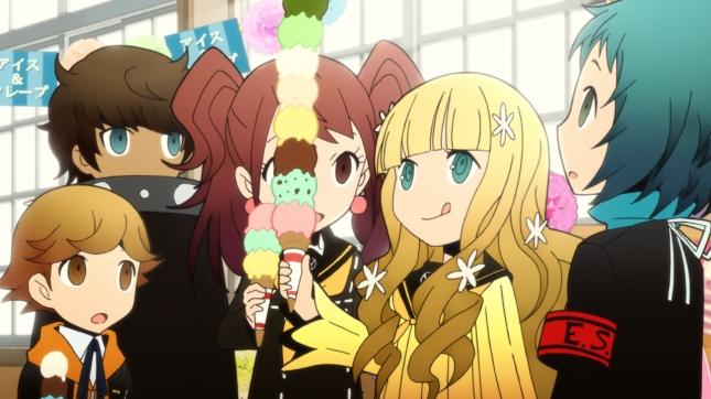 Persona Q Rei Ice Cream
