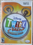 Disney Think Fast Cover
