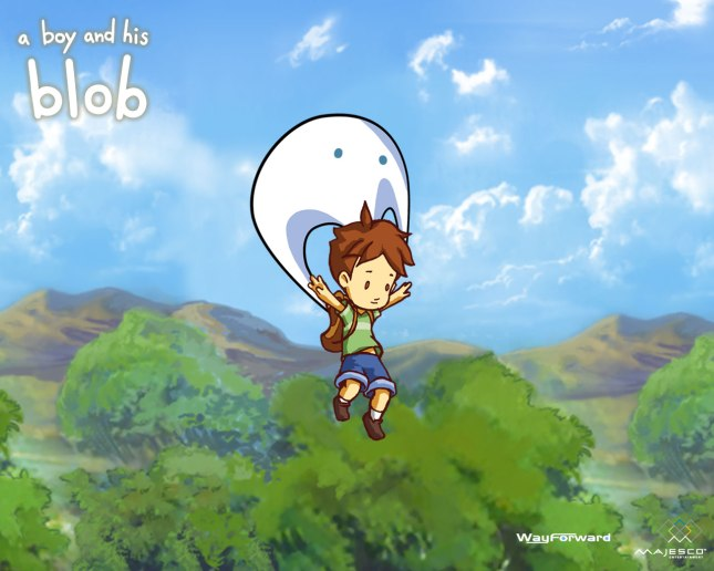 A Boy and his Blob Art 1