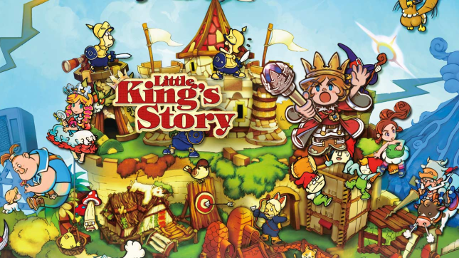 Little Kings Story Art