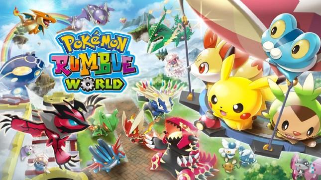 Pokemon Rumble World Art 1