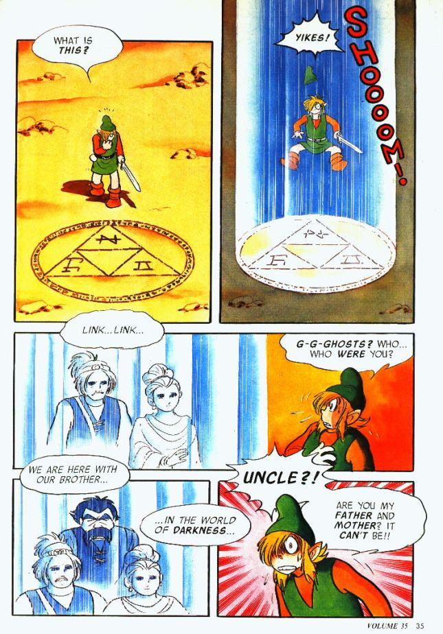 Link to the Past Comic 3