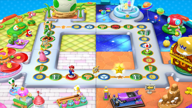 Mario Party 10 amiibo Party Board