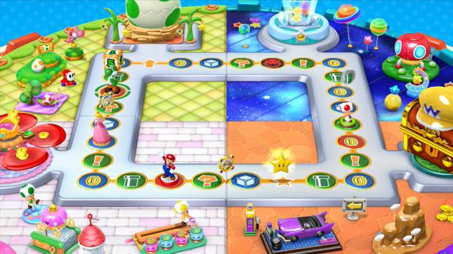 Mario Party 10 amiibo Party Board