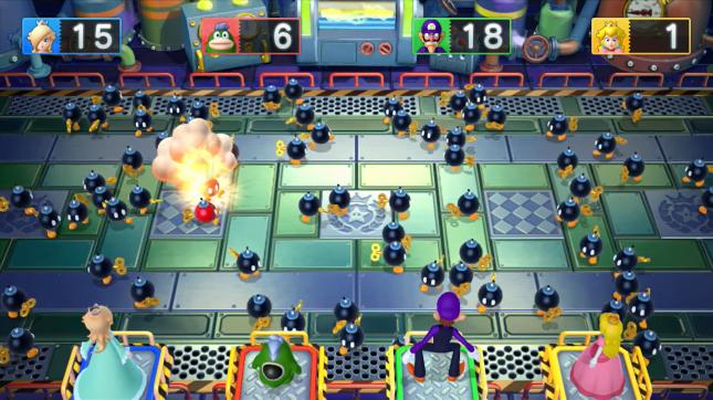 Mario Party 10 Bob-omb Combo