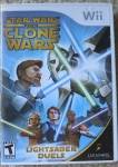 Star Wars Clone Wars Lightsaber Duels Cover