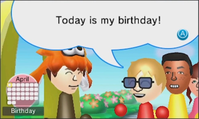 StreetPass Birthday