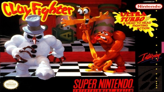 Clayfighter Cover