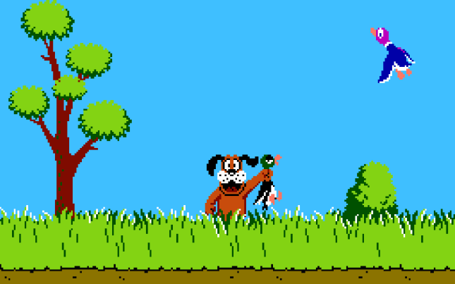 Duck Hunt Art