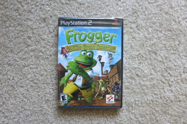 Frogger the Great Escape Cover