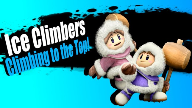 Ice Climbers Super Smash Bros