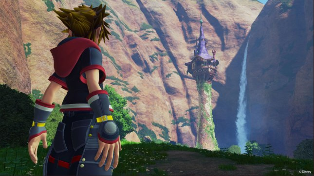 Kingdom Hearts 3 Rapunzel