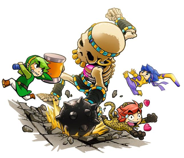 Legend of Zelda Triforce Heroes Art 1