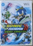 Sonic Riders Zero Gravity Cover