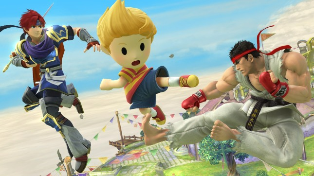 Super Smash Bros Ryu Lucas Roy