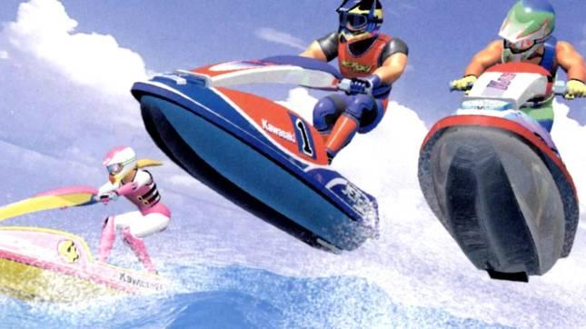 Wave Race Art