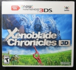 Xenoblade Chronicles 3D Cover