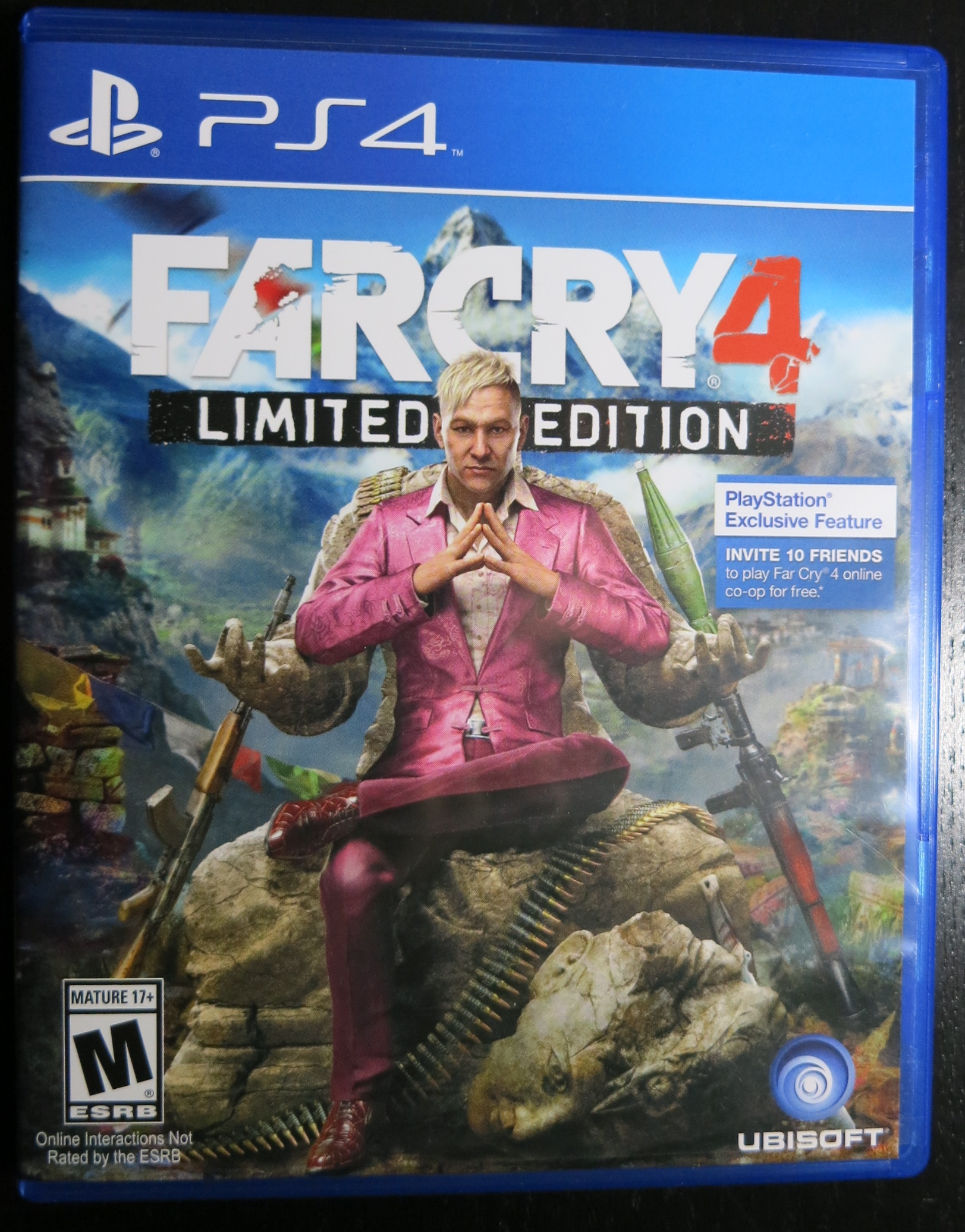 Far Cry 4 Cover Ps4 | www.imgkid.com - The Image Kid Has It!