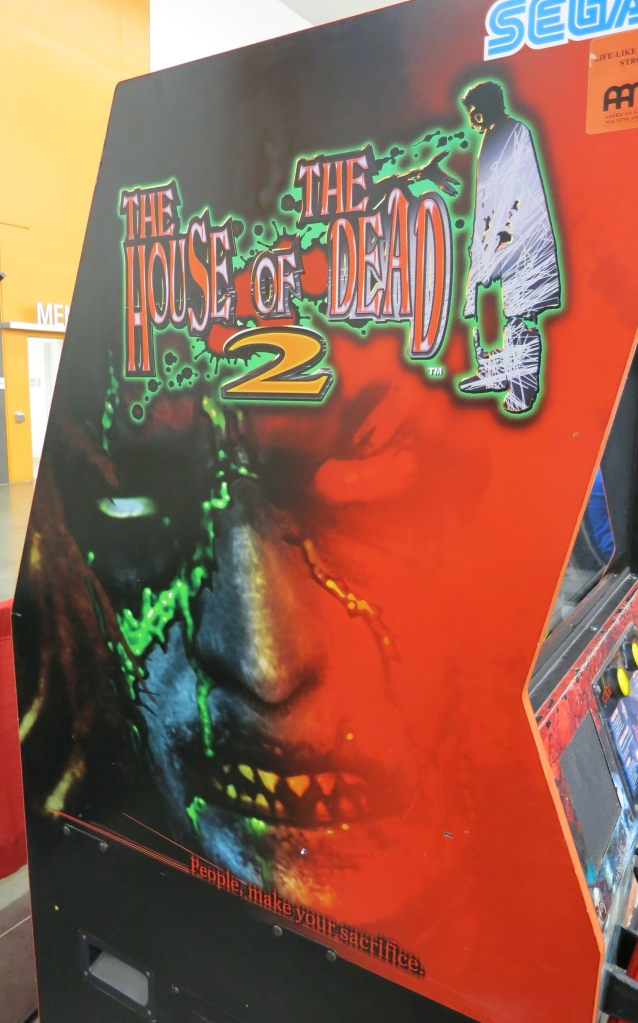 House of the Dead 2 Cabinet Art