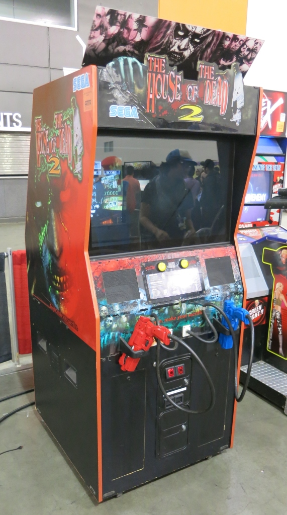 House of the Dead 2 Cabinet