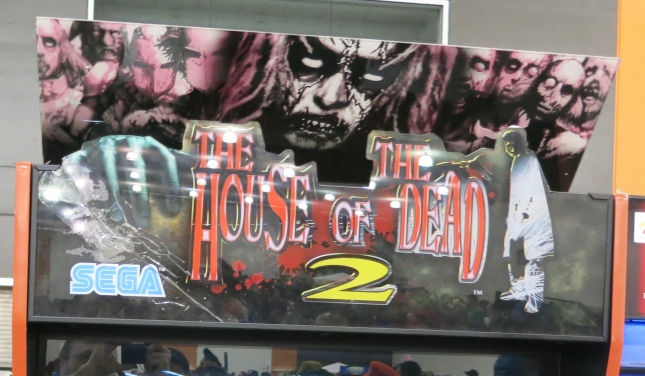 House of the Dead 2 Marquee
