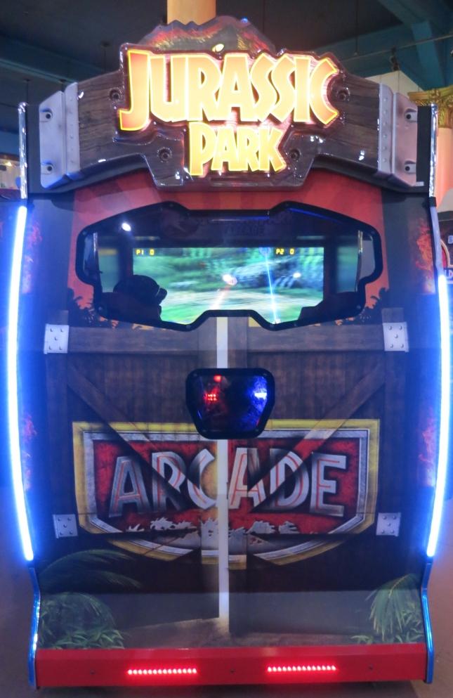 Jurassic Park Arcade Cabinet