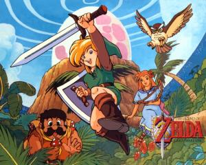 Links Awakening Art