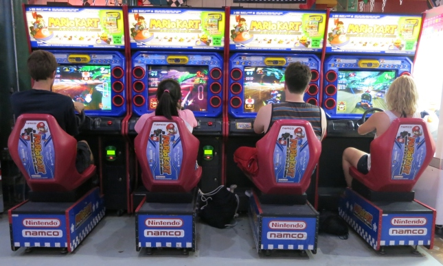 Mario Kart Arcade GP Cabinet