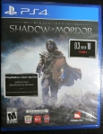 Middle Earth Shadow of Mordor Cover