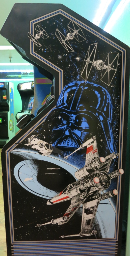 Star Wars Arcade Cabinet Art
