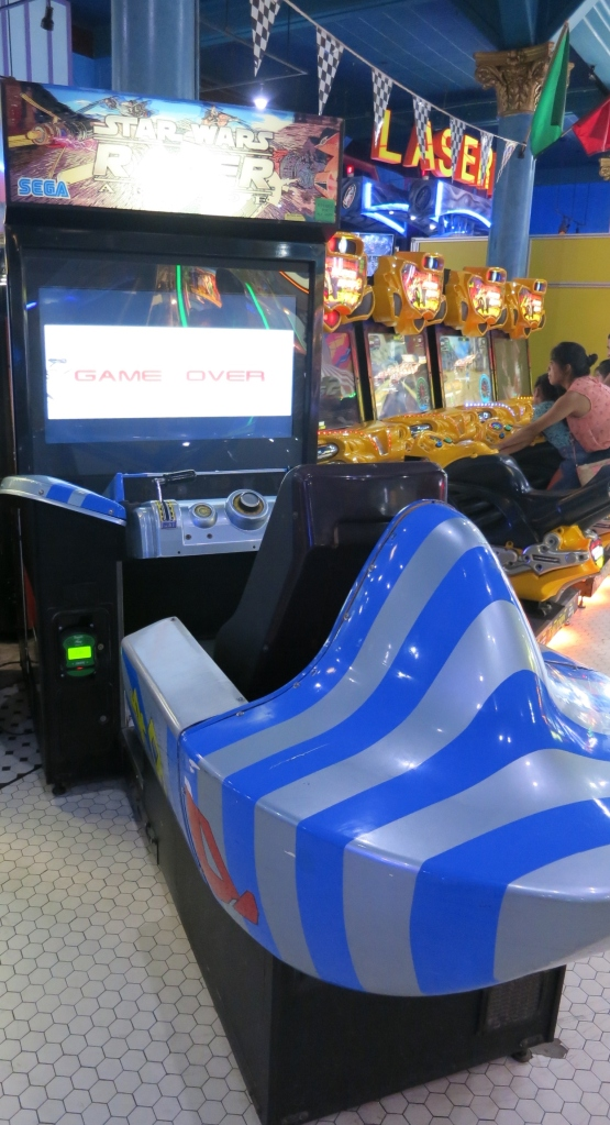 Star Wars Racer Arcade Cabinet