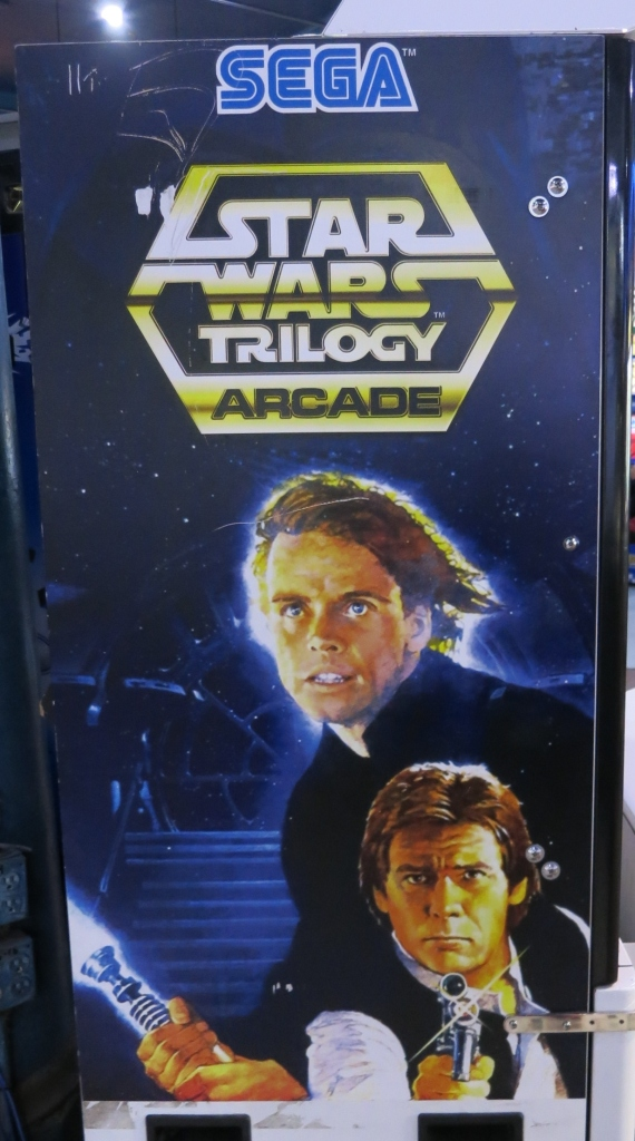 Star Wars Trilogy Arcade Cabinet Art