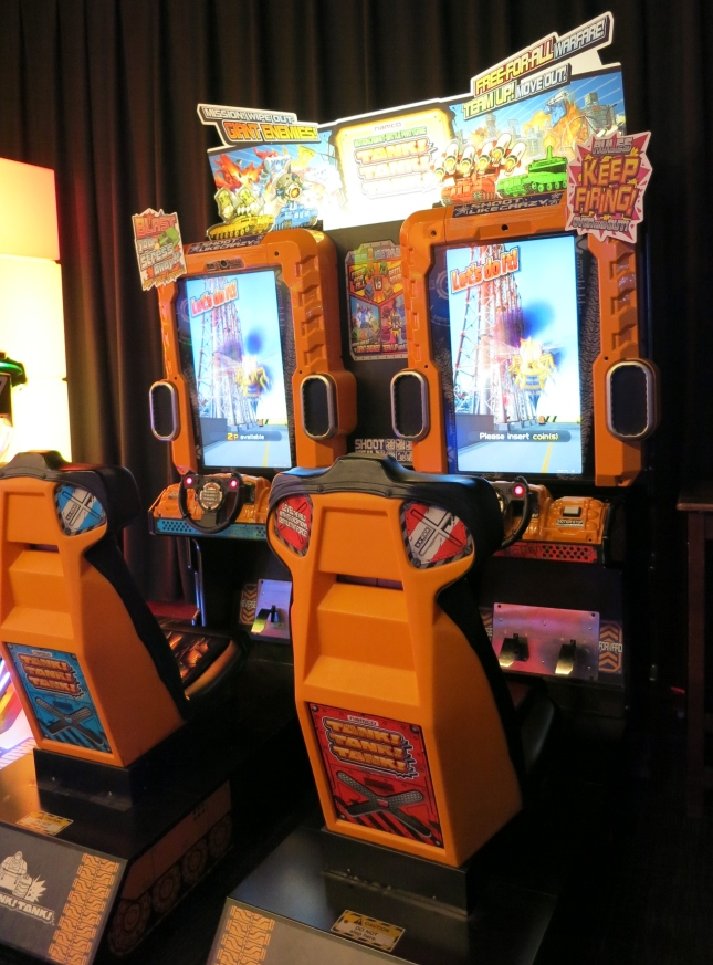Tank! Tank! Tank! Cabinet - A much better arcade game than Wii U game