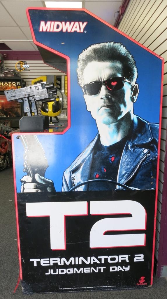 Terminator 2 Cabinet Art