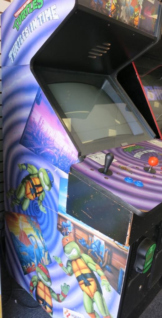 Teenage Mutant Ninja Turtles: Turtles in Time Arcade Cabinet