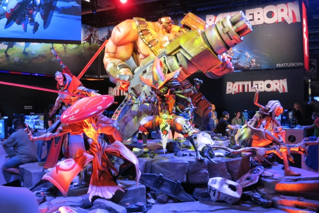 Battleborn PAX Display