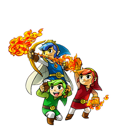 Triforce Heroes Art 1