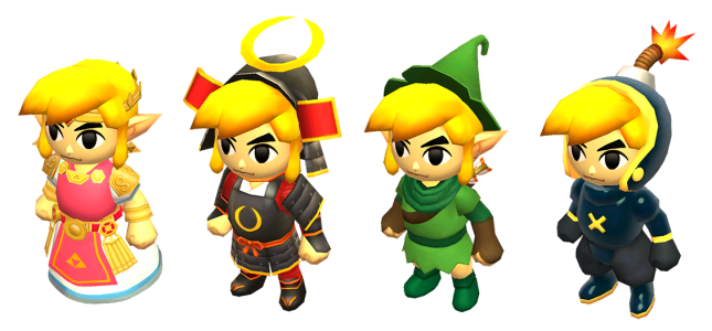 Triforce Heroes Outfits